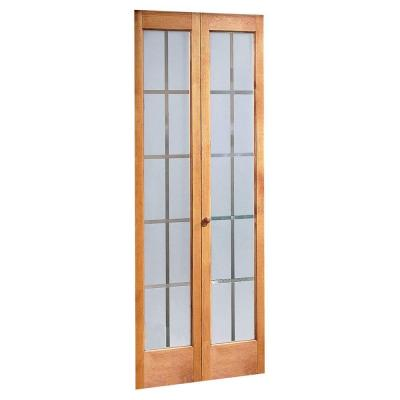 Pinecroft colonial glass wood universal reversible Home depot interior doors wood