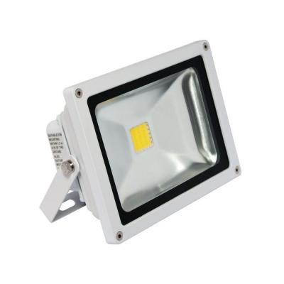 1-Head White LED Soft White Outdoor Wall-Mount Mini Flood Light