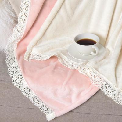 Romantic Lace Throw Blanket