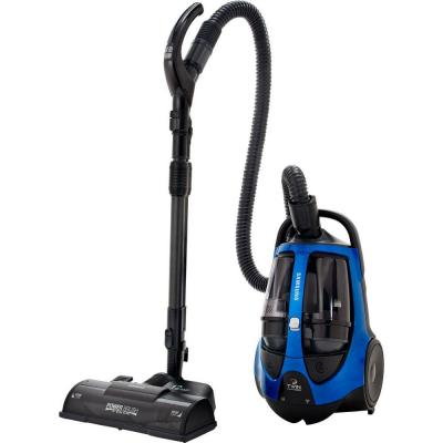 Samsung Super TwinChamber Canister Vacuum System with 15 in. PowerBrush in Electric Blue