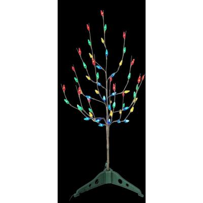 Import Merchandising Concepts 3 ft. Pre-Lit LED Artificial Christmas Tree with Multi Color Lights