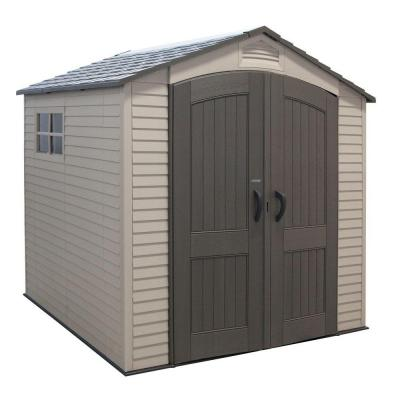 7 ft. x 7 ft. Economy Storage Shed Product Photo