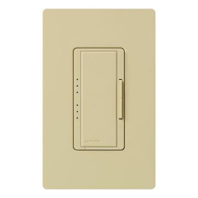 Maestro 600-Watt Multi-Location Electronic Low-Voltage Digital Dimmer - Ivory Product Photo