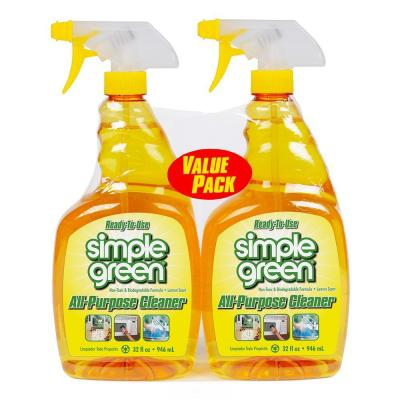 32 oz. Ready-to-Use Lemon All-Purpose Cleaner (2-Pack)