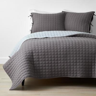 Company Cotton Reversible Jersey Knit Quilt