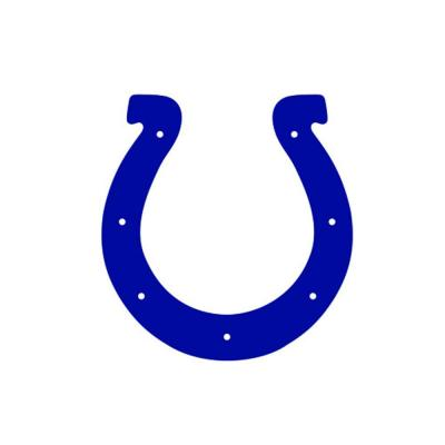 Indianapolis Colts NFL Teammate Logo Wall Applique