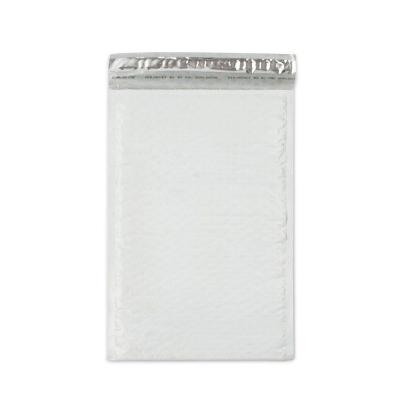 8.5 in. x 13.75 in. White Poly Bubble Mailers with Adhesive