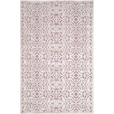 Paradise Mauve/Violet 5 ft. 1 in. x 7 ft. 6 in.