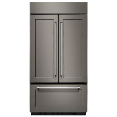 20.8 cu. ft. Built-In French Door Refrigerator in Panel Ready