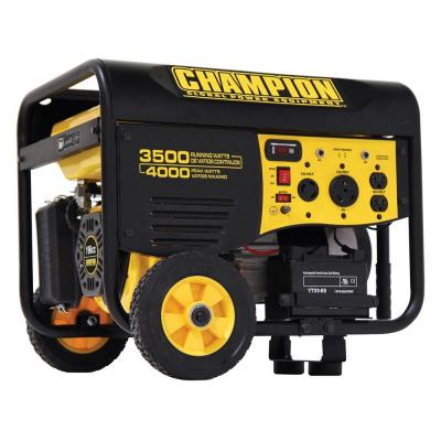 Champion Power Equipment 3,500/ 4000-Watt Gasoline Powered Portable Generator with RV Ready-DISCONTINUED