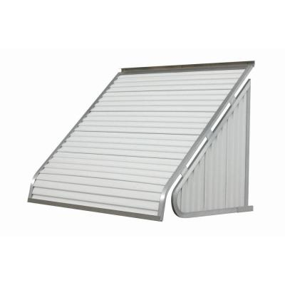 NuImage Awnings 6 ft. 3500 Series Aluminum Window Awning (28 in. H x 24 in. D) in White