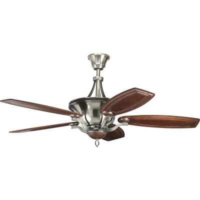 Thomasville Lighting Crescent Heights 58 In. Antique Nickel Ceiling Fan-DISCONTINUED