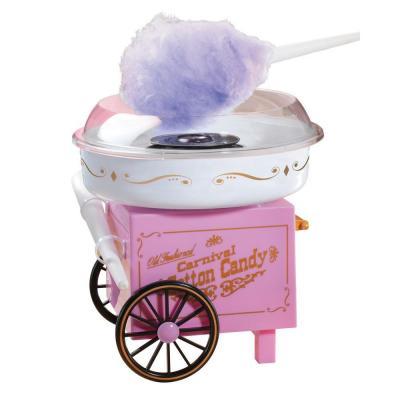 Nostalgia Electrics Vintage Collection Old Fashioned Carnival Hard and Sugar-Free Cotton Candy Maker-DISCONTINUED
