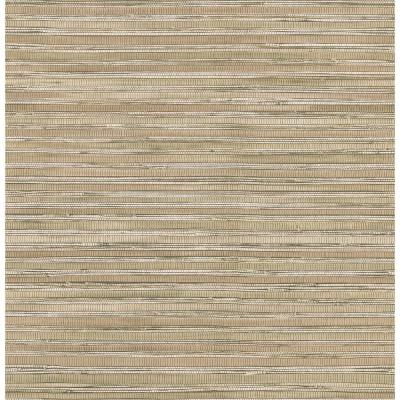 Brewster 8 in. W x 10 in. H Faux Grasscloth Wallpaper Sample