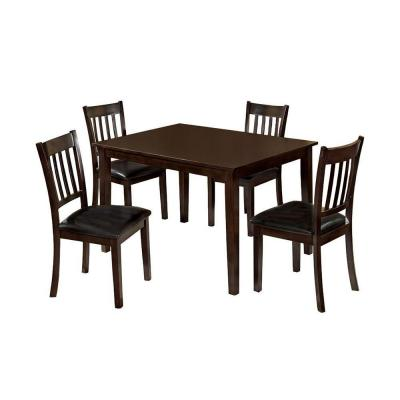 West Creek I 5-Piece Dining Set in Espresso Product Photo