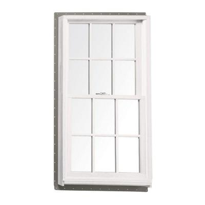 37.625 in. x 56.875 in. 400 Series Tilt-Wash Double-Hung Wood Window - White Product Photo