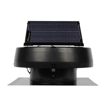 20 Watt Solar-Powered Roof Attic Fan Product Photo