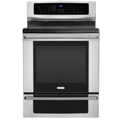 Electrolux IQ-Touch 6.0 cu. ft. Electric Induction Range with Self-Cleaning Convection Oven in Stainless Steel