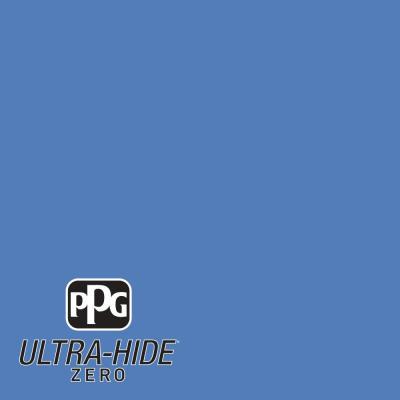 Ppg 1 Gal Hdpv14 Ultra Hide Zero Bright Cornflower Blue Satin Interior Paint Hdpv14z 01sa The Home Depot