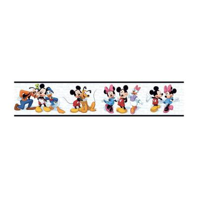 Disney 9 In Mickey And Friends Border Dk5915bd The Home