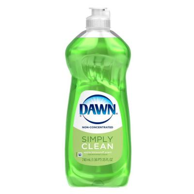 Simply Clean 25 oz. Apple Blossom Scent Non-Concentrated Dishwashing Liquid Product Photo