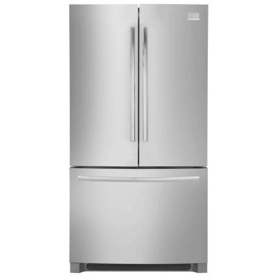 Frigidaire Professional 22.37 cu. ft. Non-Dispenser French Door Refrigerator in Stainless Steel, Counter Depth