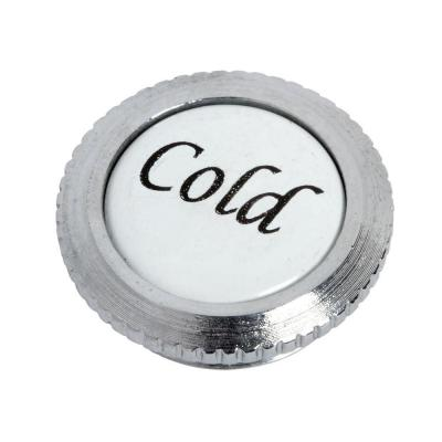 Culinaire Index Button - Cold, Polished Chrome