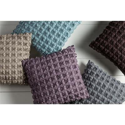 Capener Solid Polyester Throw Pillow