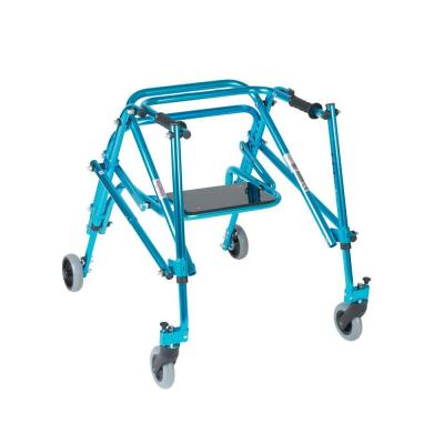 Nimbo Rehab Lightweight Posterior Posture Walker with Seat for Youth in