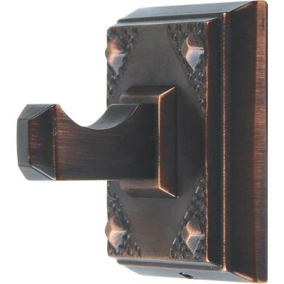 American Arts and Crafts Collection Single Robe Hook in Venetian Bronze