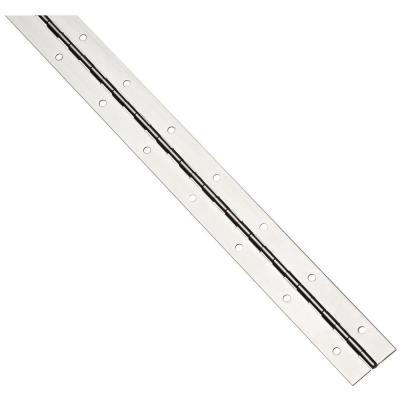 1-1/2 in. x 48 in. Medium Gauge Stainless Steel Continuous Hinge