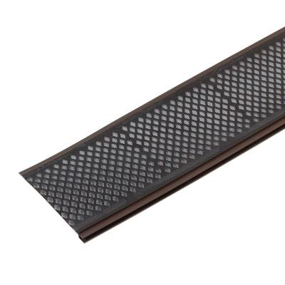 Amerimax Home Products Snap In Filter Brown Gutter Guard