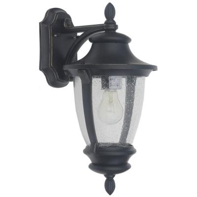 Wilkerson 1-Light Black Outdoor Wall Mount Product Photo