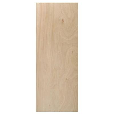 36 in. x 80 in. Composite Unfinished Flush Interior Door Slab Product Photo