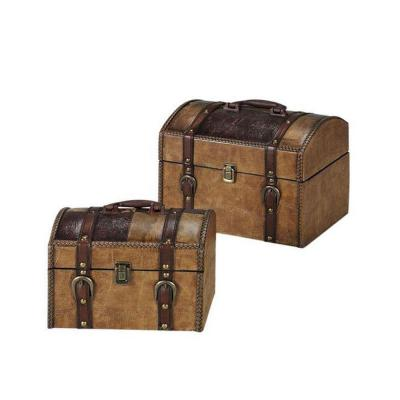 Home Decorators Collection Trunks (Set of 2)-DISCONTINUED