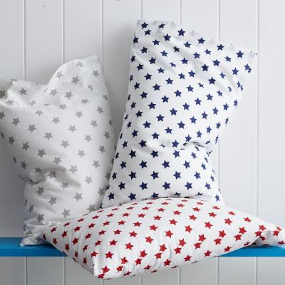 Stars 200-Thread Count Cotton Percale Pillowcase (Set of 2)