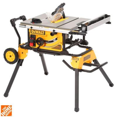 Dewalt 10 in jobsite table saw with rolling stand for 10 jobsite table saw