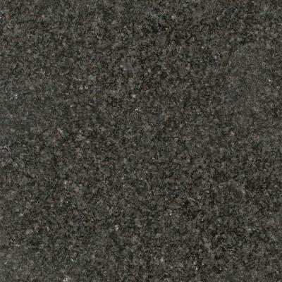 3 in. Granite Countertop Sample in Black Impala Product Photo