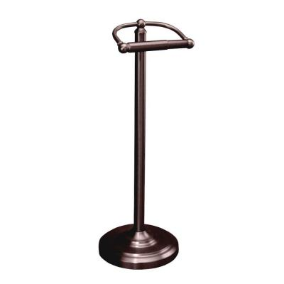 Gatco Freestanding Toilet Paper Holder In Oil Rubbed