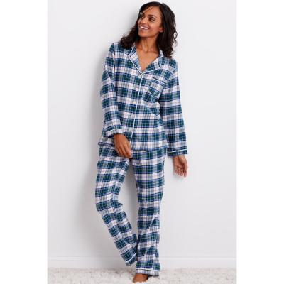 Family Flannel Women's Holden Plaid 2-Piece Classic Pajama Set