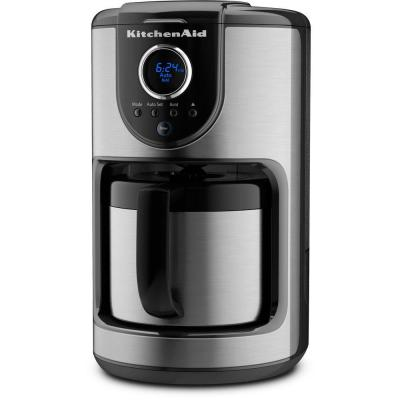 KitchenAid 10-Cup Thermal Coffee Maker in Onyx Black-DISCONTINUED
