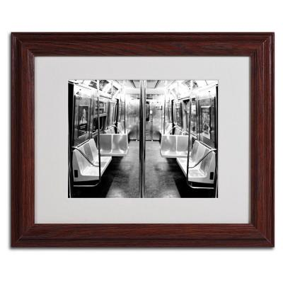11 in. x 14 in. Subway Car Canvas Art
