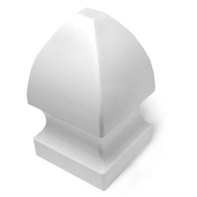 Veranda 4-3/4 in. x 4-3/4 in. Vinyl Gothic Fence Post Cap