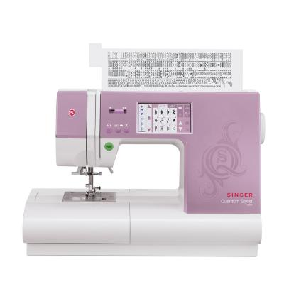 Singer Sewing Co Stylist Touch 90-Stitch Sewing Machine With Automatic Needle Threading
