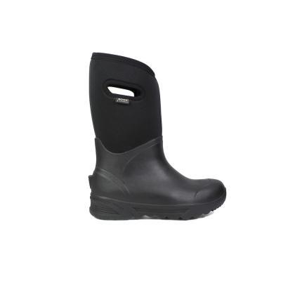 Bozeman Tall Men 14 in. Black Rubber with Neoprene Waterproof Boot