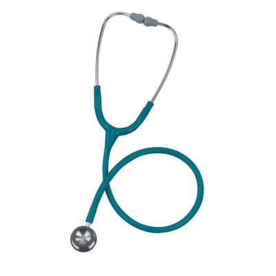3M Classic II Pediatric Stethoscope in Caribbean Blue with Rainbow Chest
