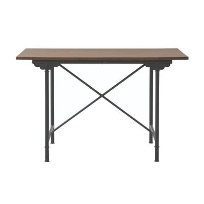 Hamilton 48 in. W Farm Chestnut Dining Table Product Photo