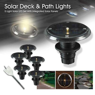 Kenroy Home 1-Watt Solar LED Deck, Dock and Path Light (5-Set)