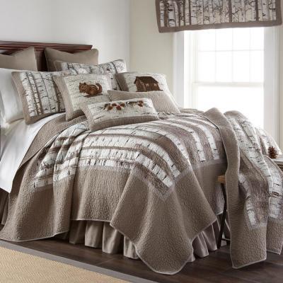 Birch Forest Cotton Quilt Set