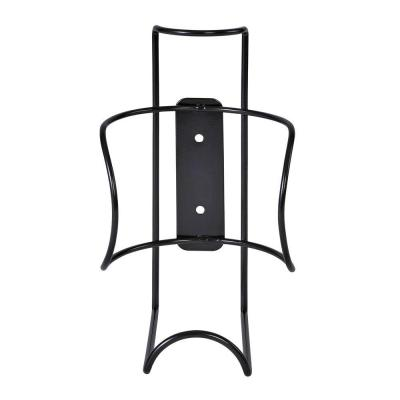 Buddy Products 8.5 in. H Large Wipe Canister Holder Wall Mount-Black